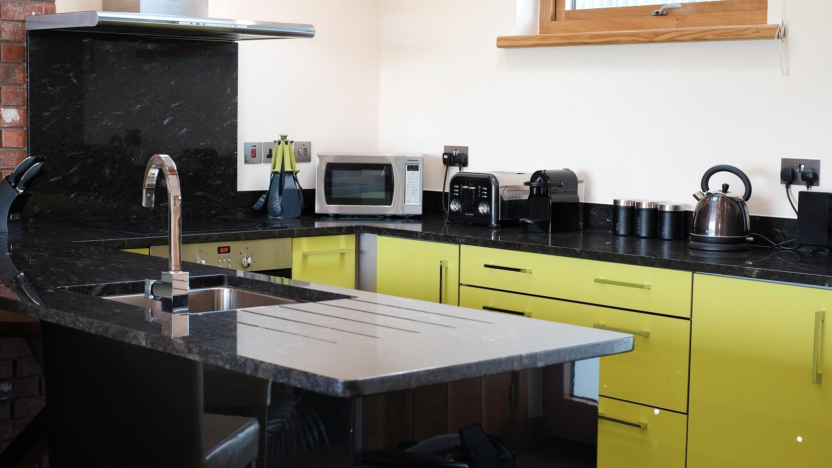 Flash Blue Granite - Kitchen by RGB Holsworthy