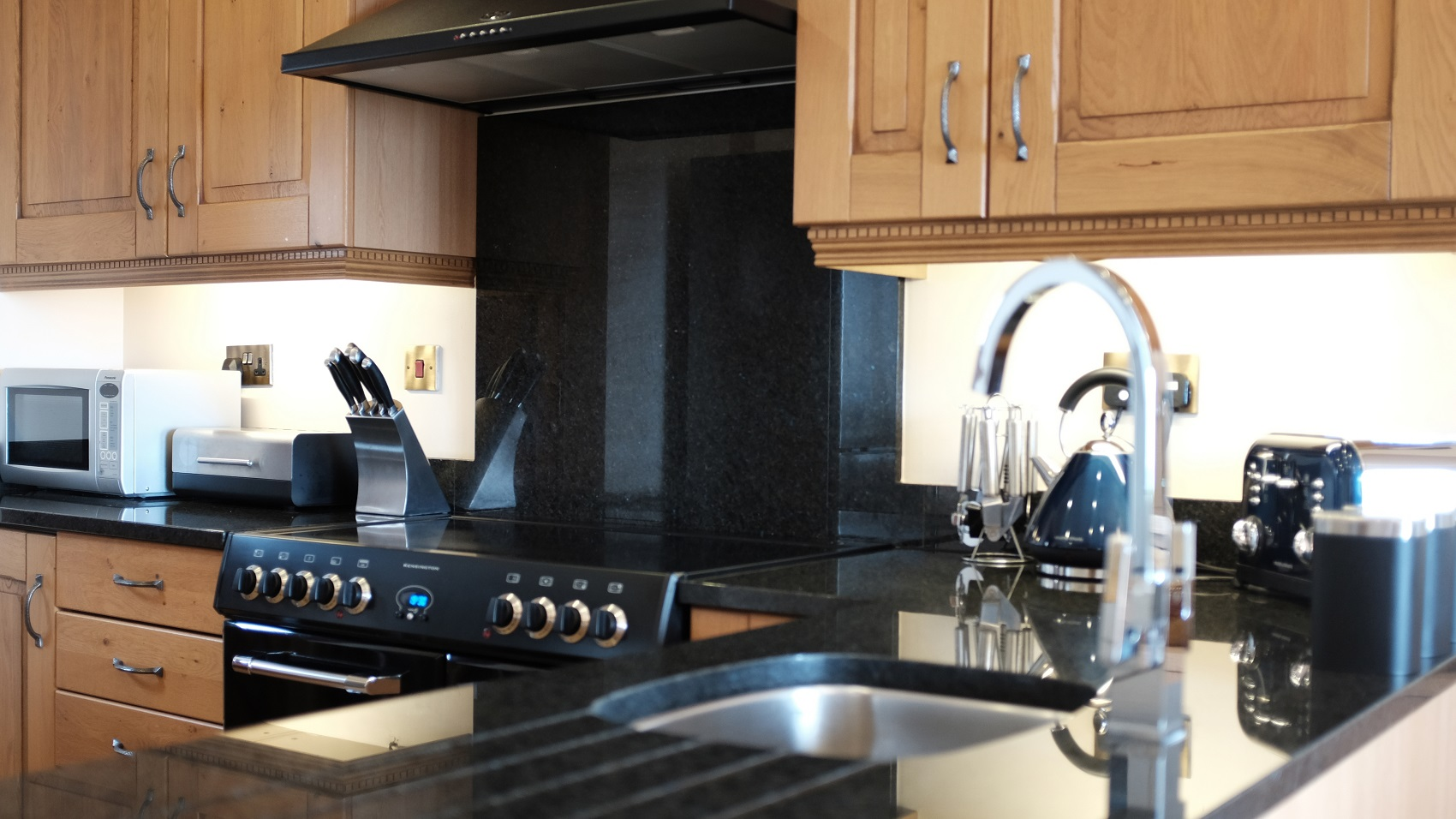 Angolan Black Granite - Kitchen by RGB Holsworthy