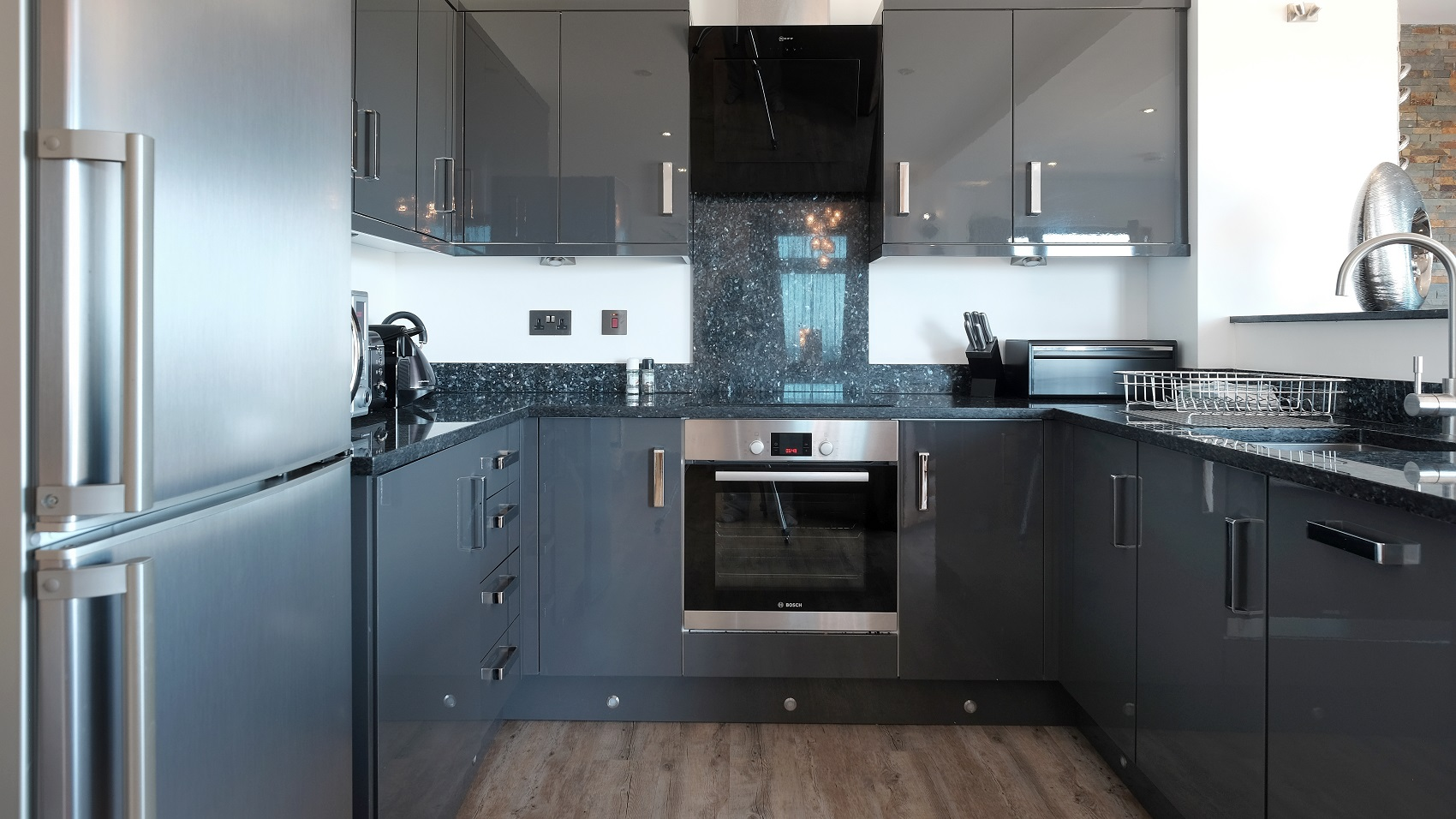 Blue Pearl Granite - Kitchen by RGB Holsworthy