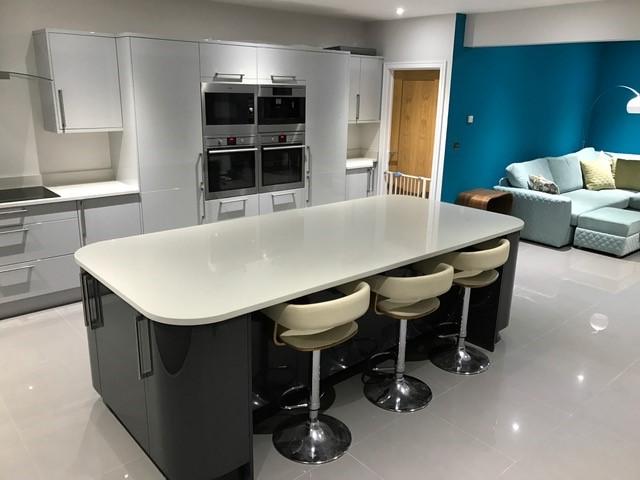 Ammonite Frost - Kitchen by System Six Kitchens