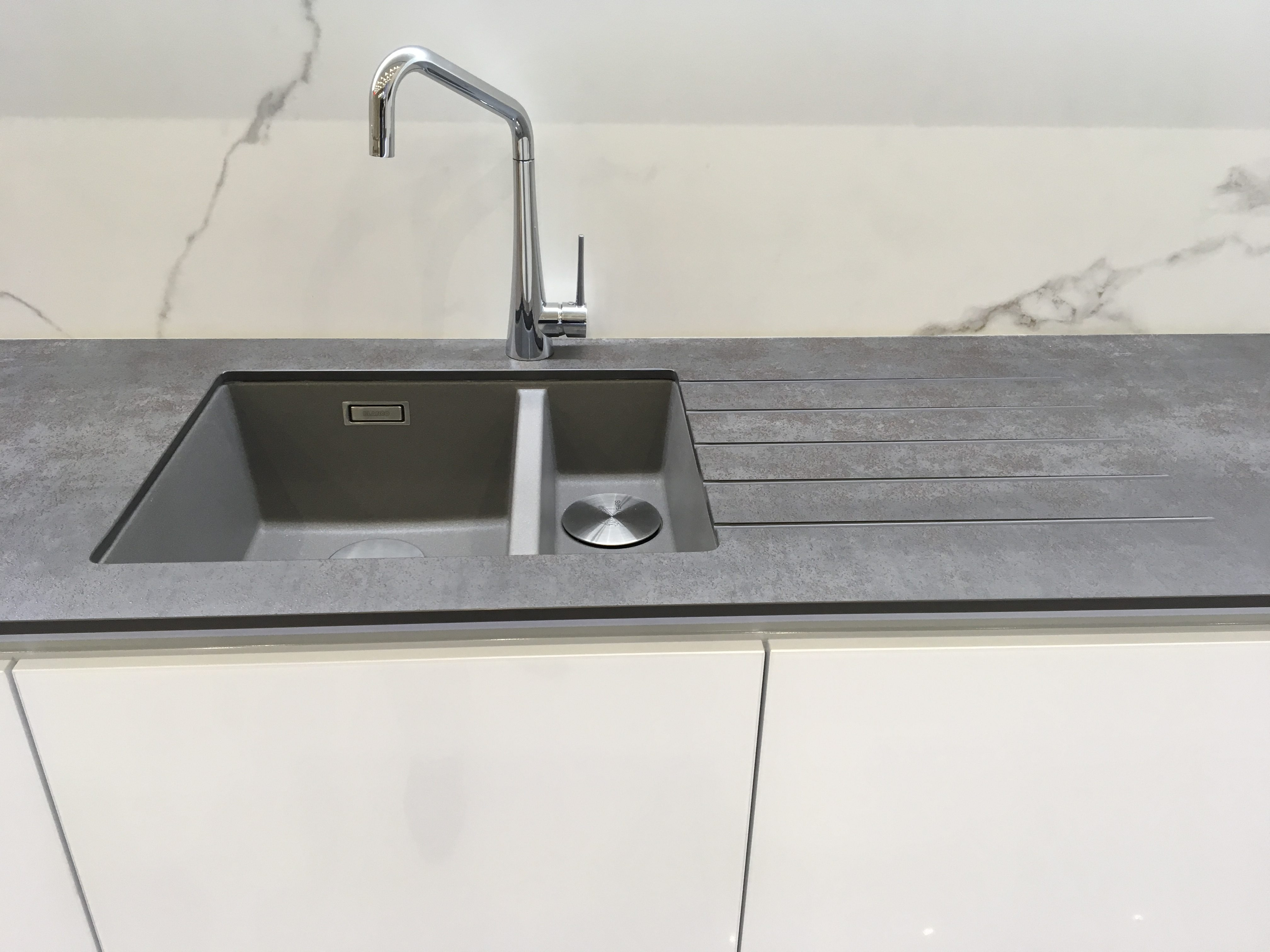 Neolith Iron Grey & Calacatta - Kitchen by Intoto Exeter