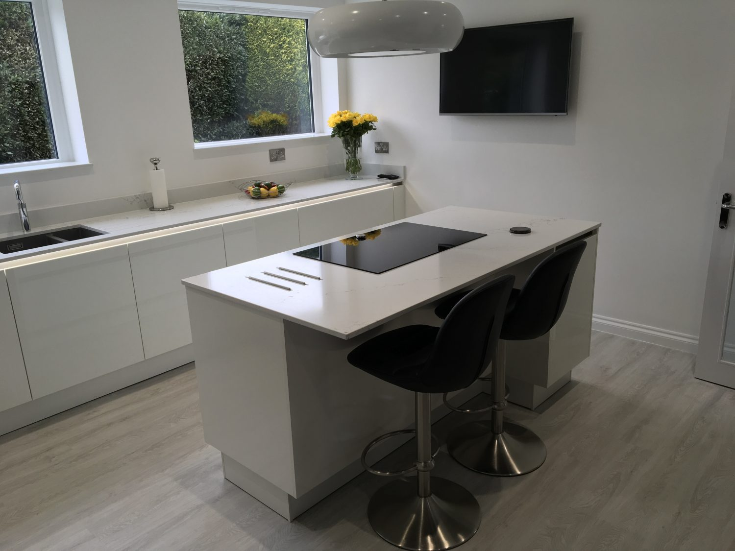 Unistone Statuario - Kitchen by Intoto Exeter