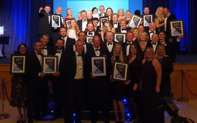 Steve Bristow wins at the South Devon Business Awards