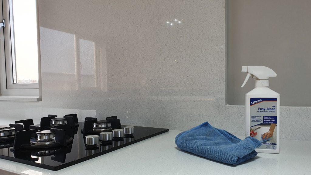 White Quartz Worktop Cleaning Guide